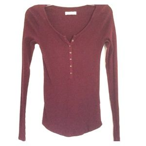 Abercrombie long sleeve shirt